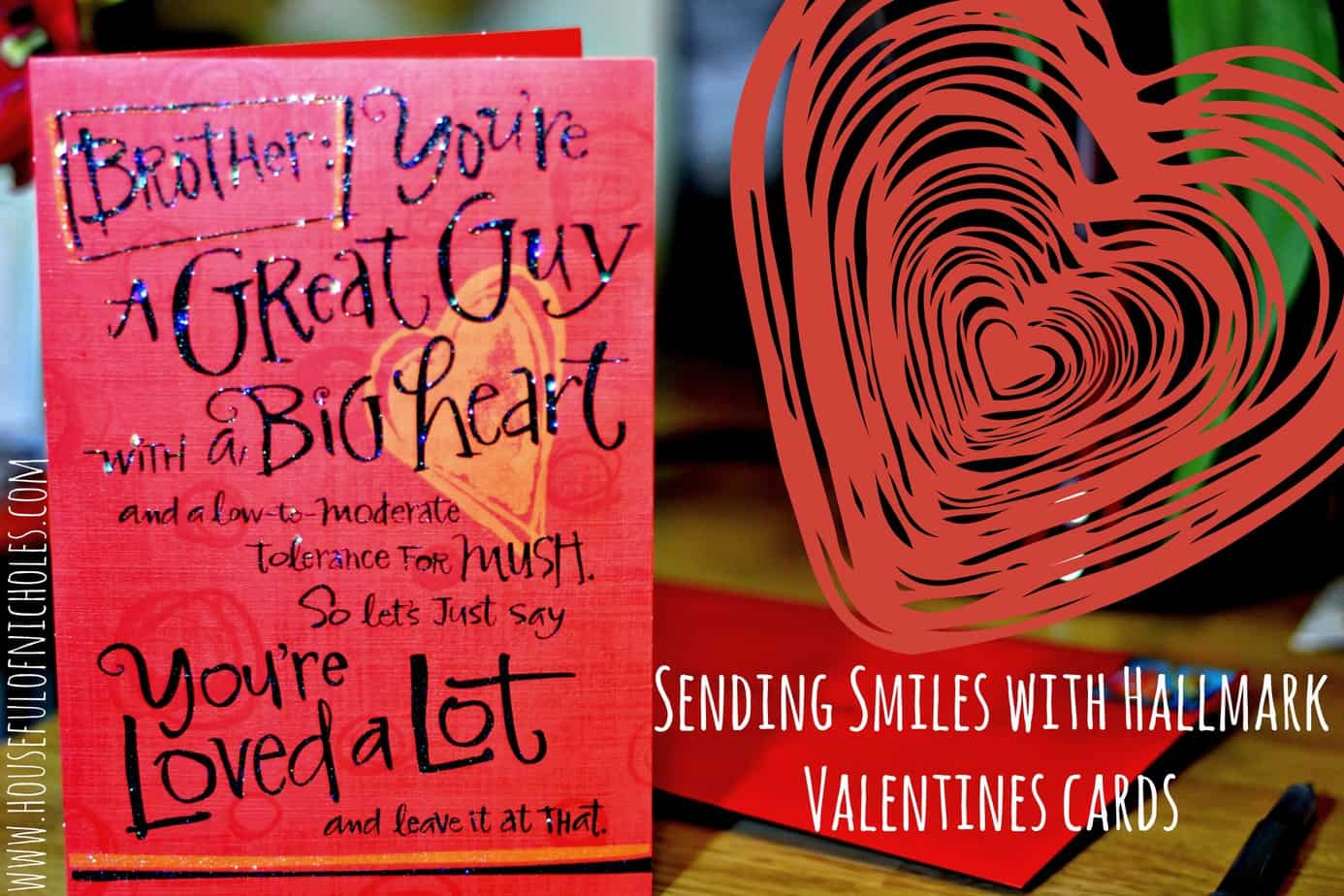 Send love smiles with hallmark valentines cards houseful of facebook m4hsunfo