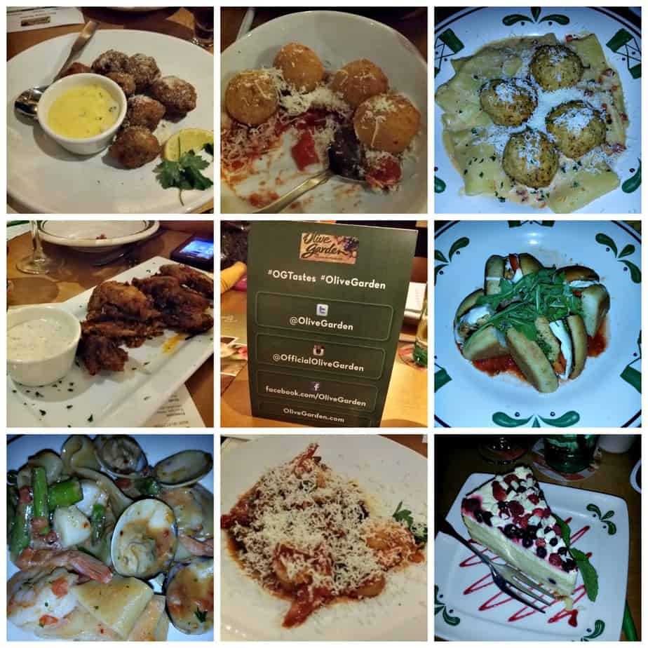 Date Night Diaries: Olive Garden New Menu #OGTastes | Houseful Of ...
