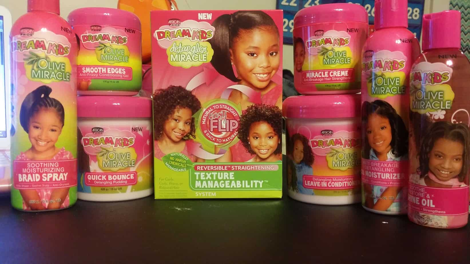 Dream Kids Detangler Miracle Texture Manageability System Offers ...
